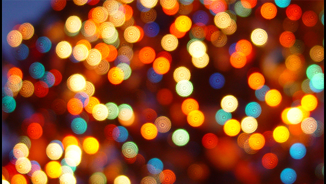 Holiday lights and events around Las Vegas