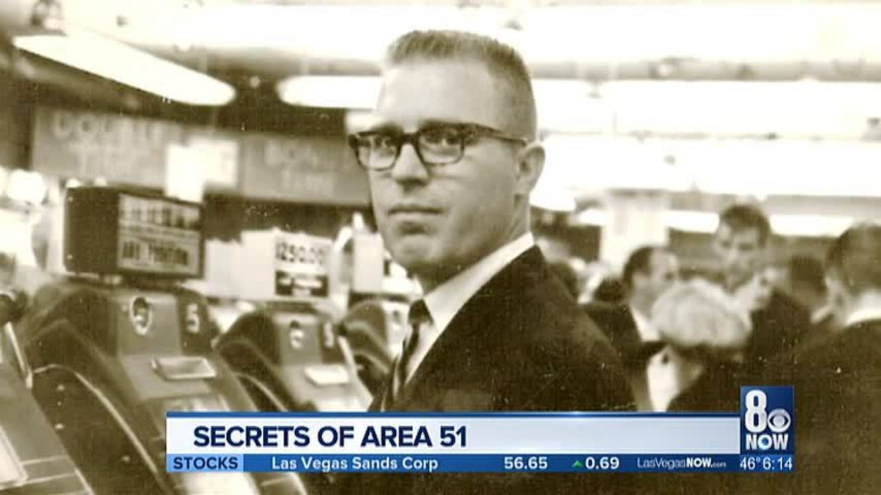 Former CIA worker, T D  Barnes, to reveal more about Area 51