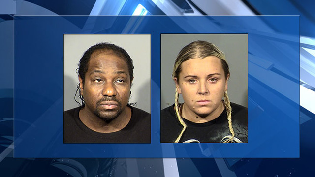 Nye County fugitives accused of starving animals found in Clark County