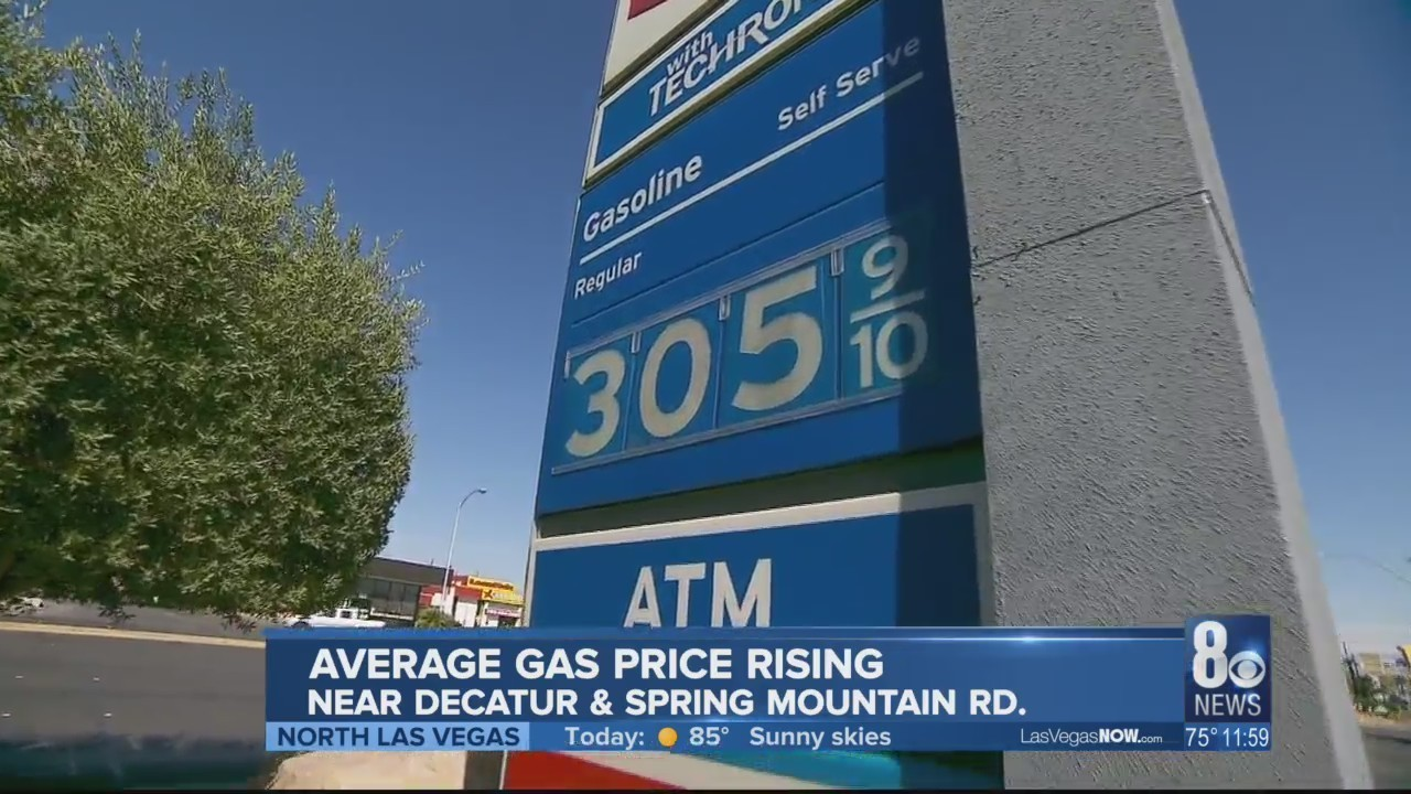 Las Vegas Gas Prices >> Vegas Gas Tops 3 00 Average