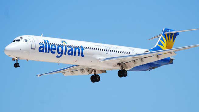 Allegiant Air Plane Slides 20 Feet Off Runway Amid Heavy Snow, Crosswinds