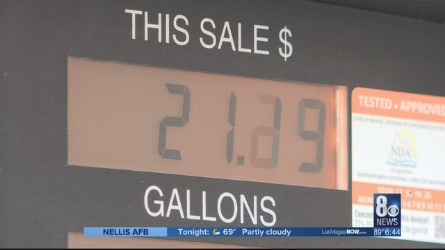 Gas Prices Hit 3 30 Average In Southern Nevada