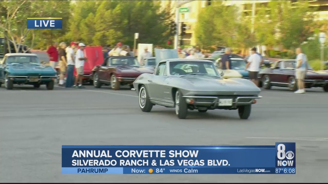 Corvette Auto Show Returns To South Point Hotel - Car show in vegas today
