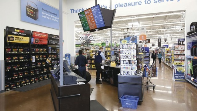 31a7cc528f354 PHOTOS  Newly Remodeled Henderson Walmart features Pickup Tower