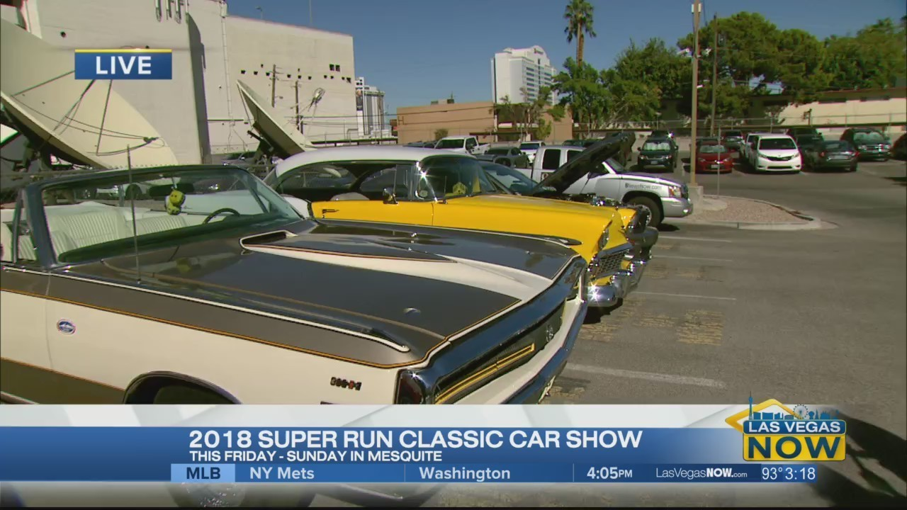 The Super Run Classic Car Show Returns - Car show in vegas today