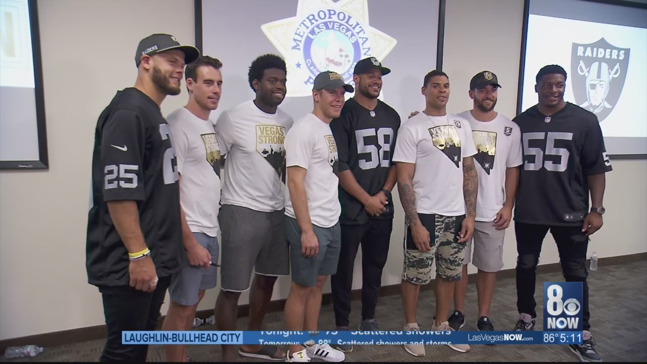 Golden Knights Raiders Hold Meet And Greet With Fans
