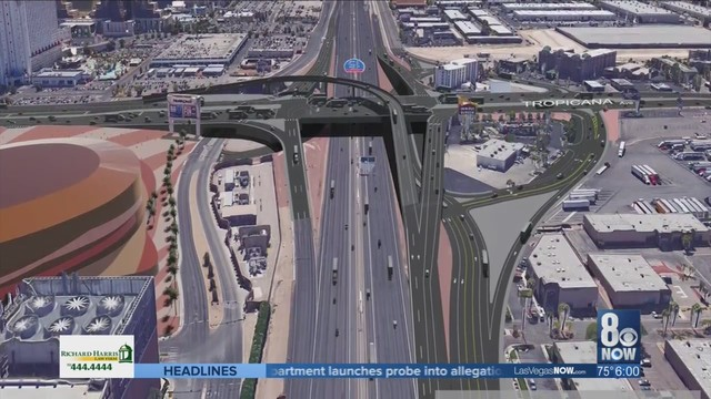 Road work in area of Raiders stadium is on NDOT's to do list
