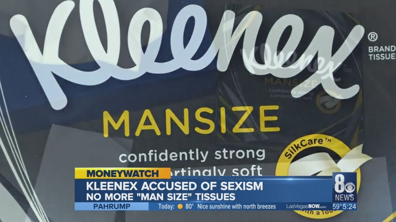 mansized kleenex it s snot what you think