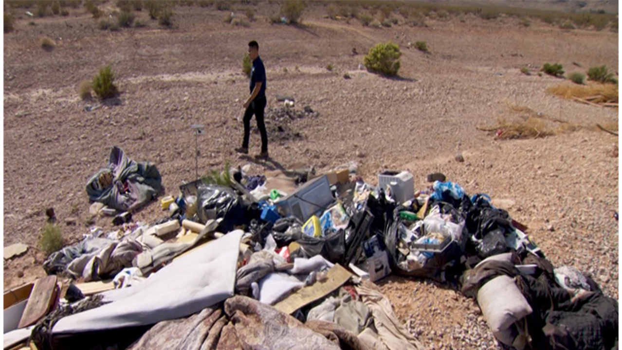 Illegal dumping plays role in Lake Mead contamination