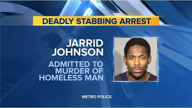 Man claims he killed homeless man, turns self into CCDC