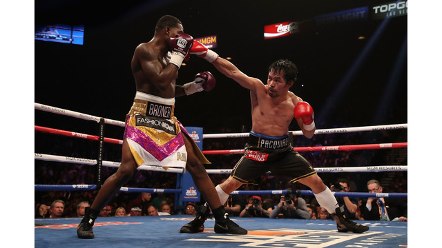 Manny Pacquiao wins unanimous decision over Adrian Broner, is Mayweather next?