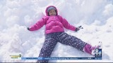 Parents and kids enjoy day of snow-filled fun on Mt. Charleston
