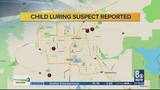 Locations where attempted child luring incidents occurred revealed