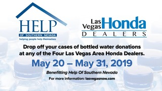 8 News NOW is partnering with the Las Vegas Honda Dealers of Southern Nevada