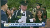 Community honors those lost behind the badge, family of fallen officer grateful for support